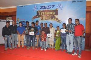 zest treasure hunt