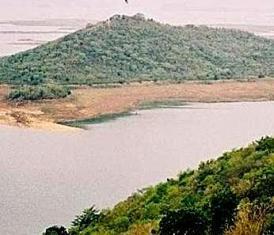 Hirakud reservoir