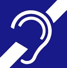deafness symbol