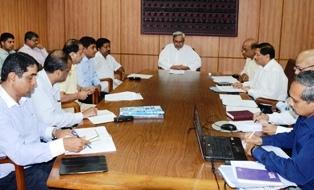 Naveen Patnaik review meeting