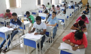 Students appearing in NEST in BJB College