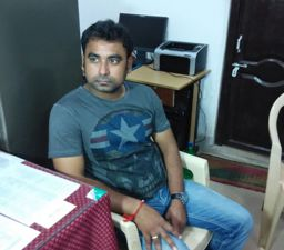 Deb Kumar Panda, who was arrested by the EOW on Sunday (Pic: Biswaranjan Mishra)