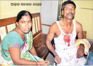 devotee attacked in srimandir