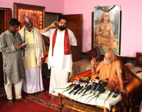 puri gobardhan petha sankaracharya nka press meet. (14)