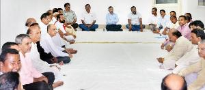 The meeting of the SJTA where the rituals of Deba Snana Purnima were finalised yesterday