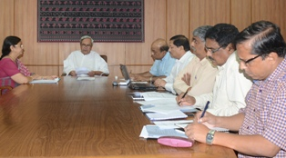CM reviewing P&C dept status
