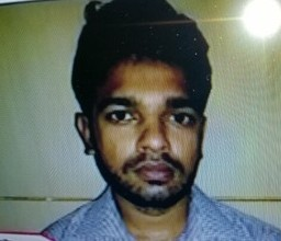 Arrested youth Sana-ul-Haq