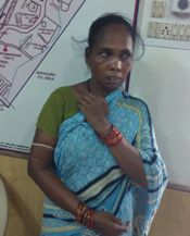 Binati Patra, who was arrested today