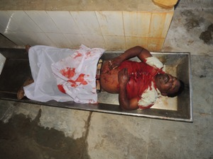 Contractor Dillip Nayak was killed at Patrapada on June 18 (Pic: Bibhuti Sahoo)