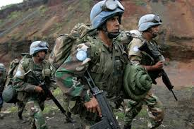 indian peace keeping forces
