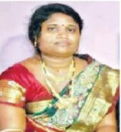 Tapasi Majhi, wife of Transport minister Ramesh Majhi