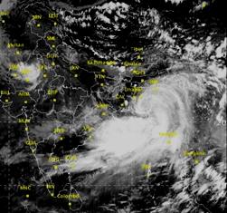Cyclonic storm Komen