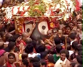 Pahandi of Lord Jagannath