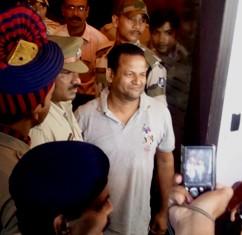 Raju Barik after his arrest
