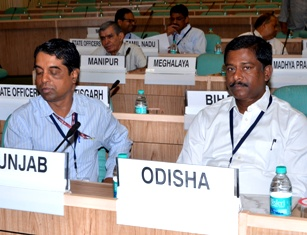 (From Right) Sanjay Das Burma and FS&CW  principal secy Madhusudan Padhi