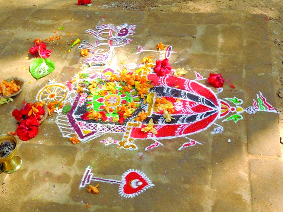 Surya pooja Pain Surya Mandal