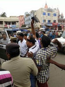 black flag to cm in puri