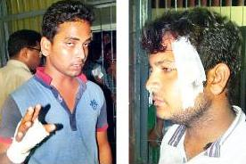 Two of the injured students