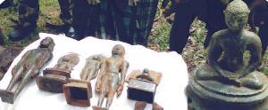 jain statues from rayagada