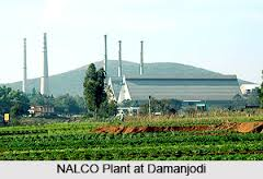 nalco plant at damanjodi