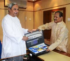 All for the leader's sake: Pradip Amat with Naveen Patnaik