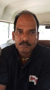 Upendra Bbarik, elder brother of the main accused Raju  Barik after his arrest on Thursday (OST Photo)