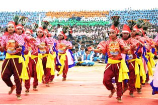 I-Day celebration in KIIT and KISS
