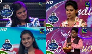 The four contestants left in the fray after the last elimination round on Sunday