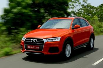 New Audi Q3 Dynamic