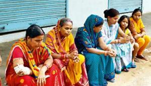bonded labour  at trahi achyuta ashram