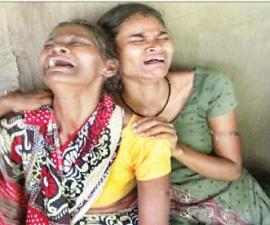 Santanu's widowed mother and unmarried sister are inconsolable since they heard the news about his death