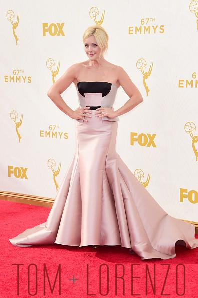 Jane Krakowski in a Bibhu Mohapatra outfit at the Emmy awards on Sunday