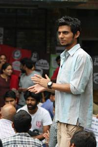 Rama Naga from Odisha who was elected general secretary of JNU Students' Union