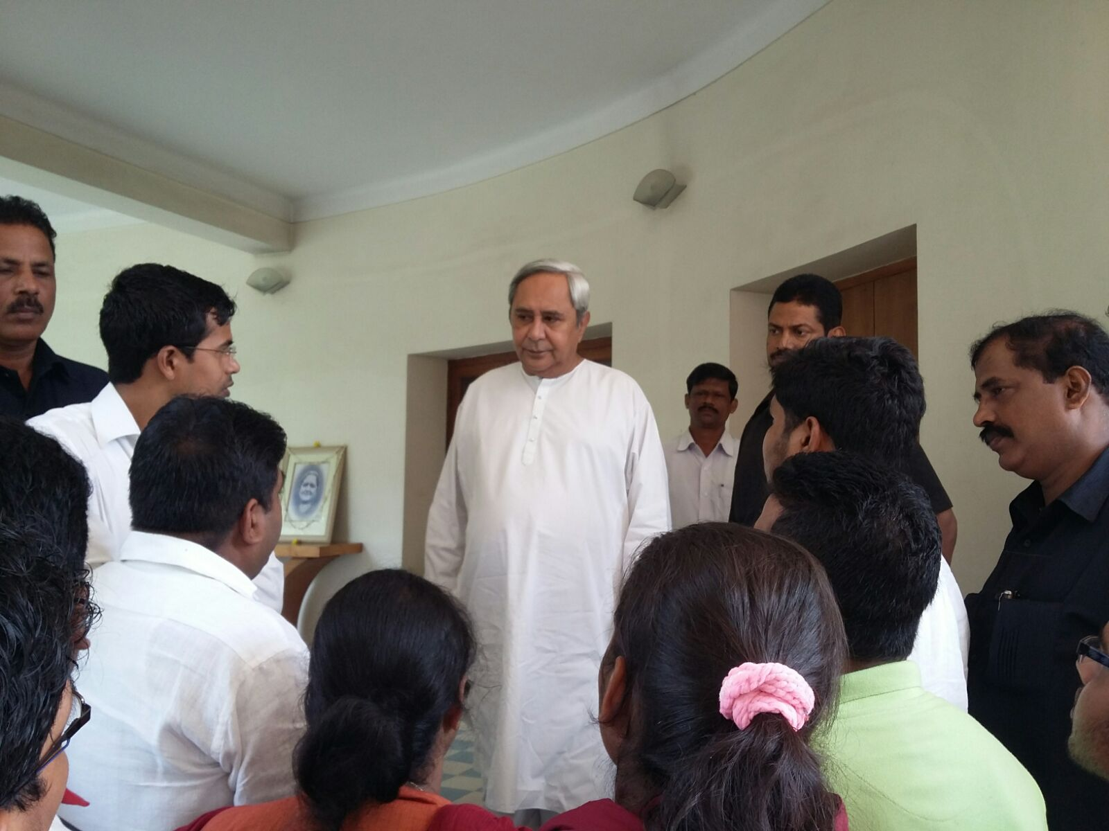 CM with BCJD members