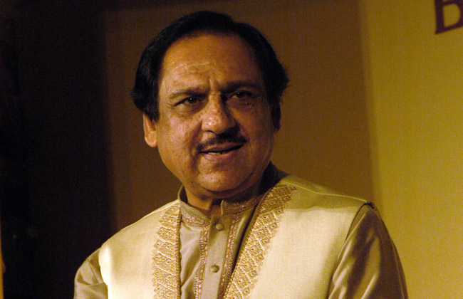 Gazal singer Ustad Ghulam Ali at the  launch of  music  album  Mahiya during a programme organised by the Breast Cancer Patients Benefit Foundation at Old Fort in New Delhi.