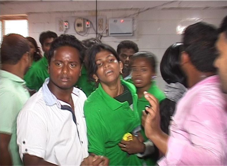 students injured balloon blast