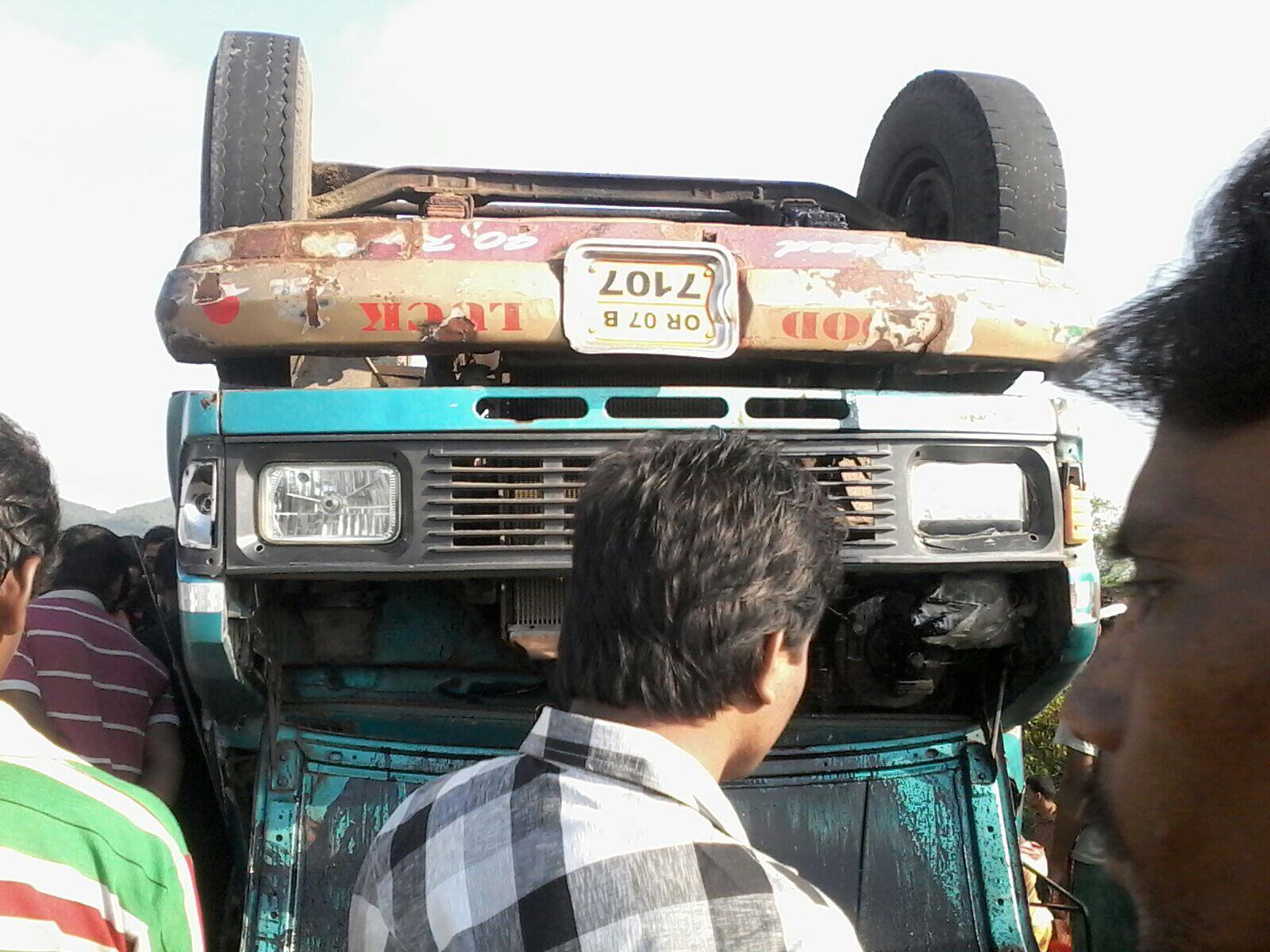 Berhampur minibus accident