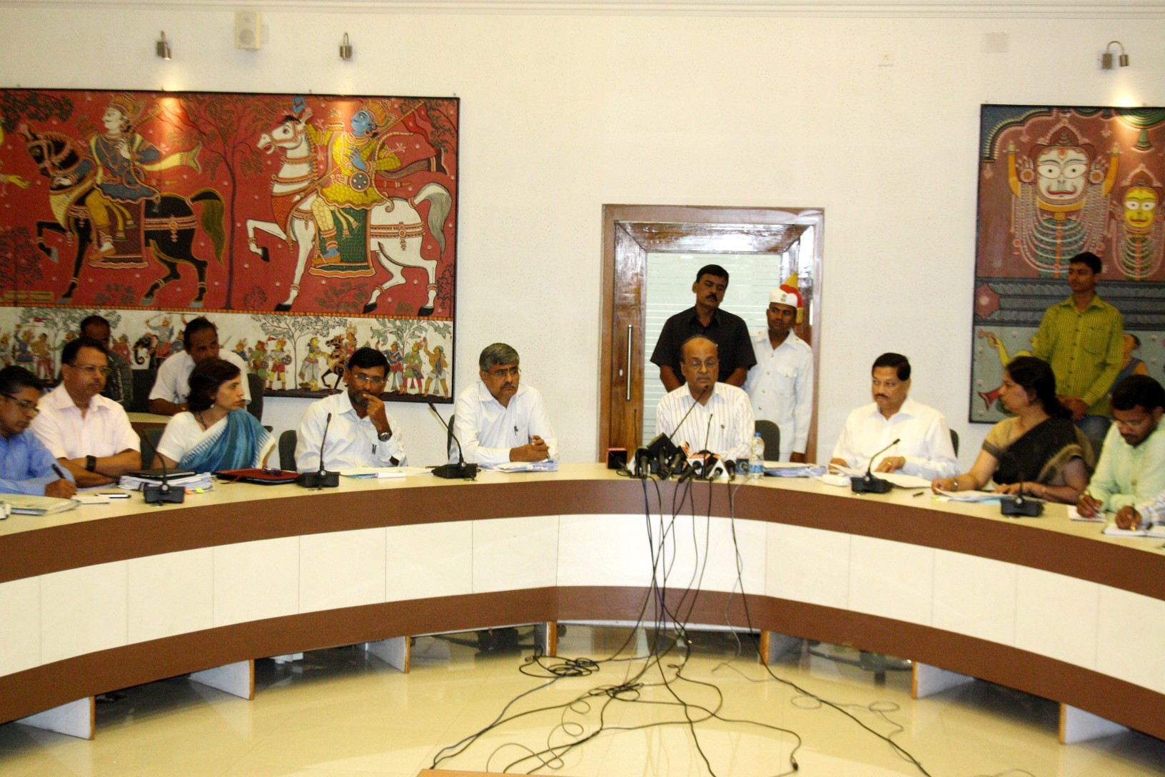 Cabinet Baithaka at  Secretariat