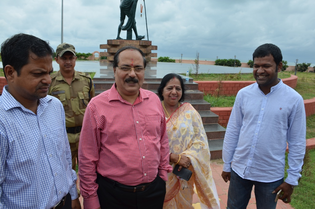 NALCO to Maintain Gandhi Park at Puri Beach