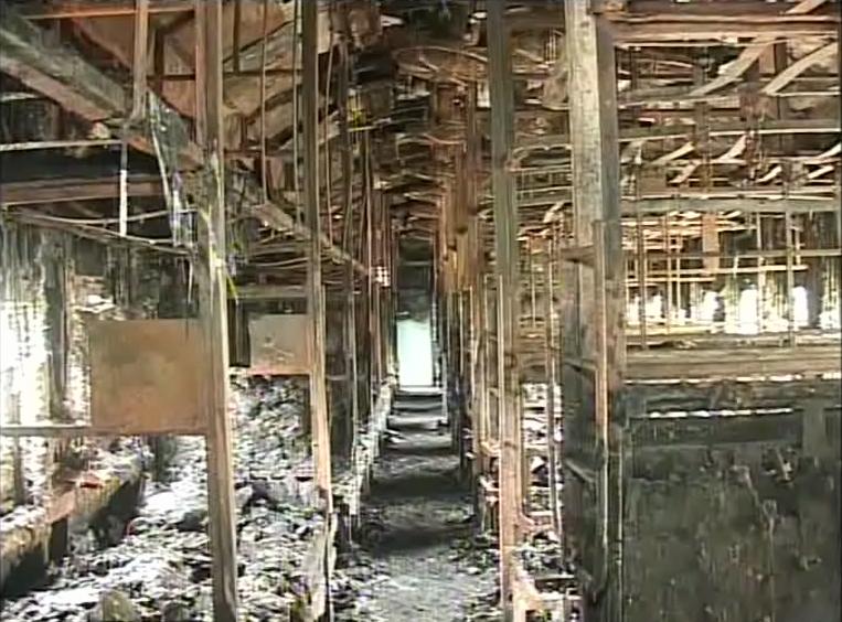 burnt coach at puri