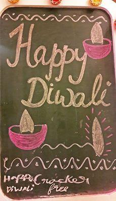 "Llittle Tiara's wish for a ""cracker-free"" Deepawali on Mayfair's board"