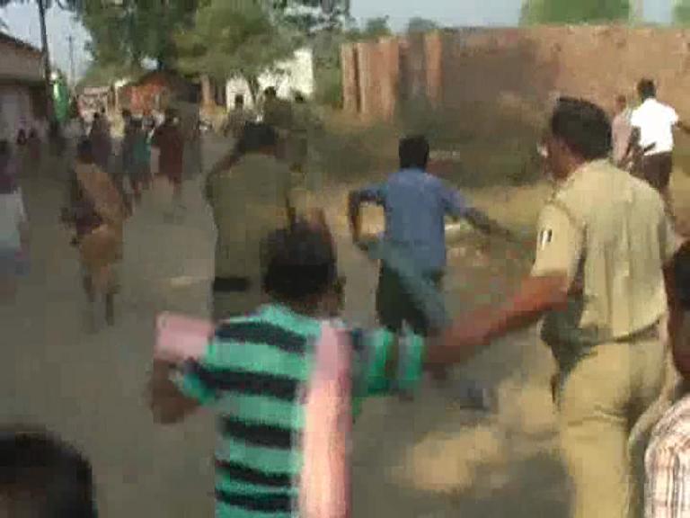police attack kalahandi