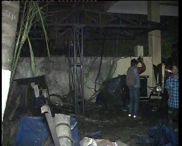 Khandagiri blast
