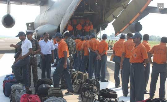 NDRF team BPIA