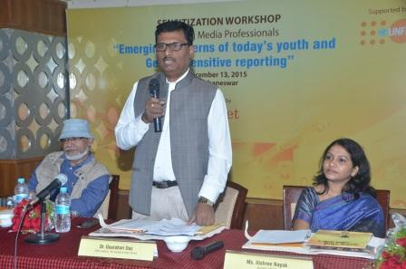 Photgraphs of Workshop on Emerging concerns of today's youth and gender sensitive reporting (4)