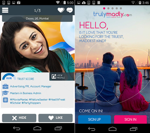 TrulyMadly-launches-love-app-for-Android