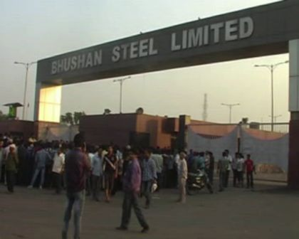 bhushan steel accident