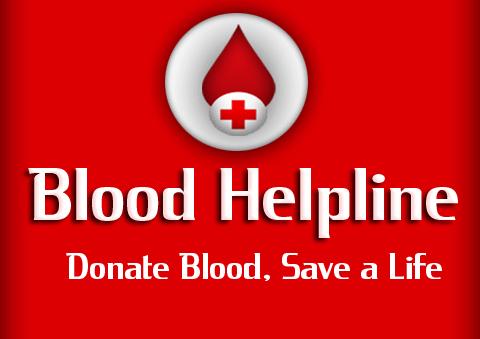 blood helpline