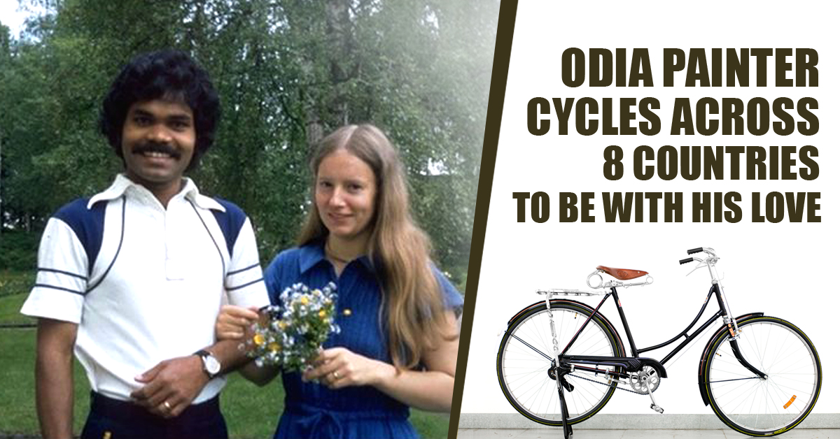 Odia Painter Cycled Across 8 Countries To Meet His Love