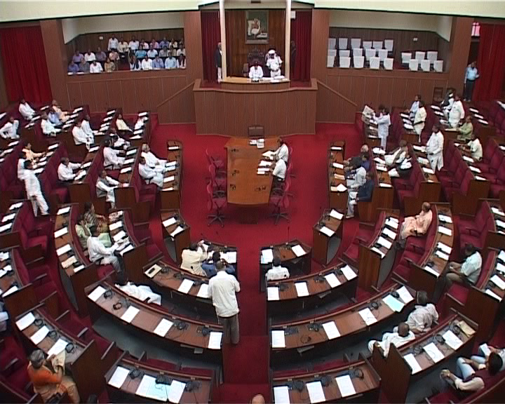 Odisha assembly in session